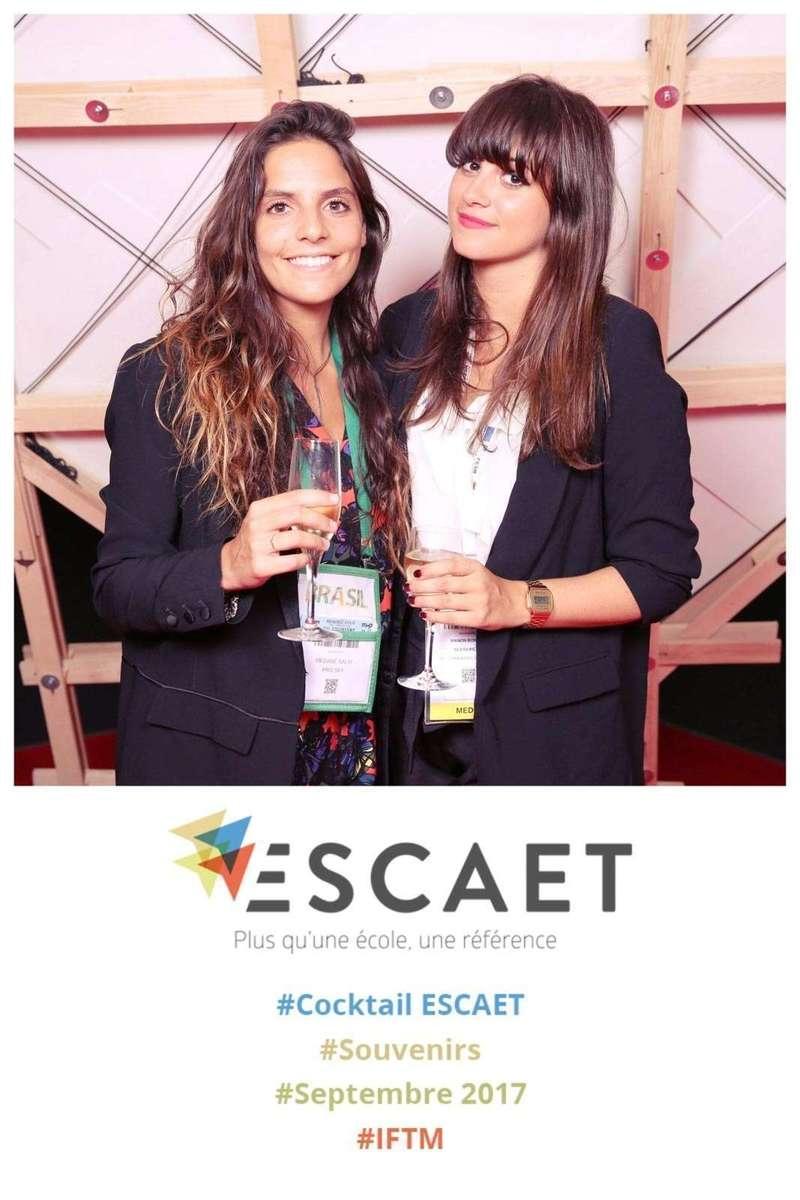 Photocall pour l'école ESCAET à Paris - 2017
