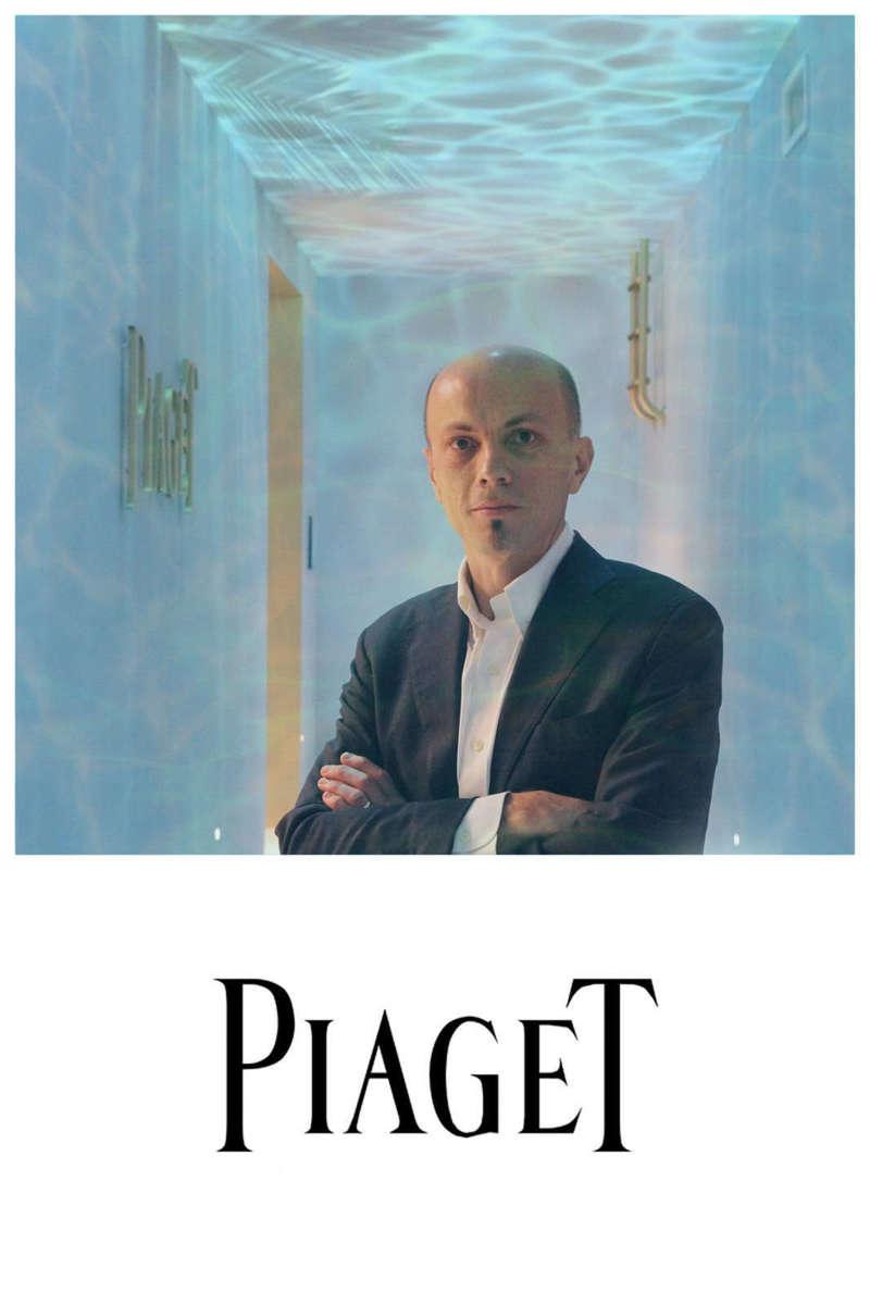 Borne photo piscine pour Piaget à Genève - 2017