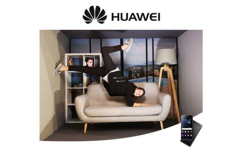 Gravity Box pour Huawei à la Convention Orange à Deauville - 2017