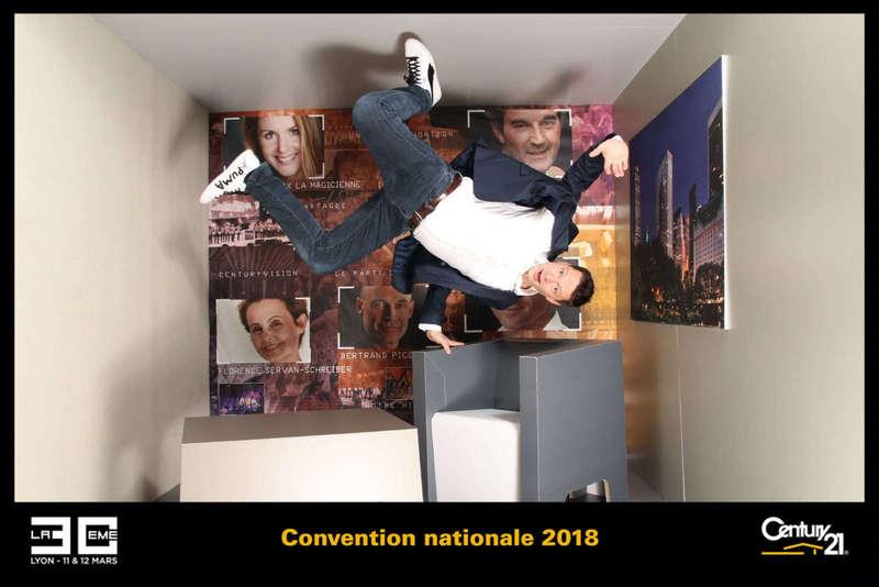 Gravity Box en kit pour la convention de Century 21 - 2018