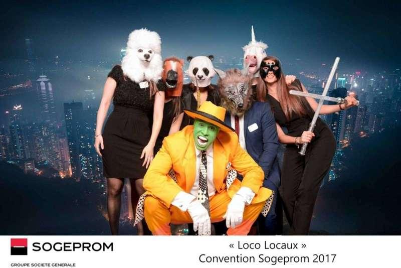 Fond vert pour la Convention Sogeprom - 2017