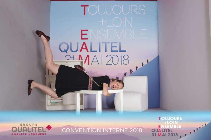 Gravity Box pour la convention interne de Qualitel - 2018