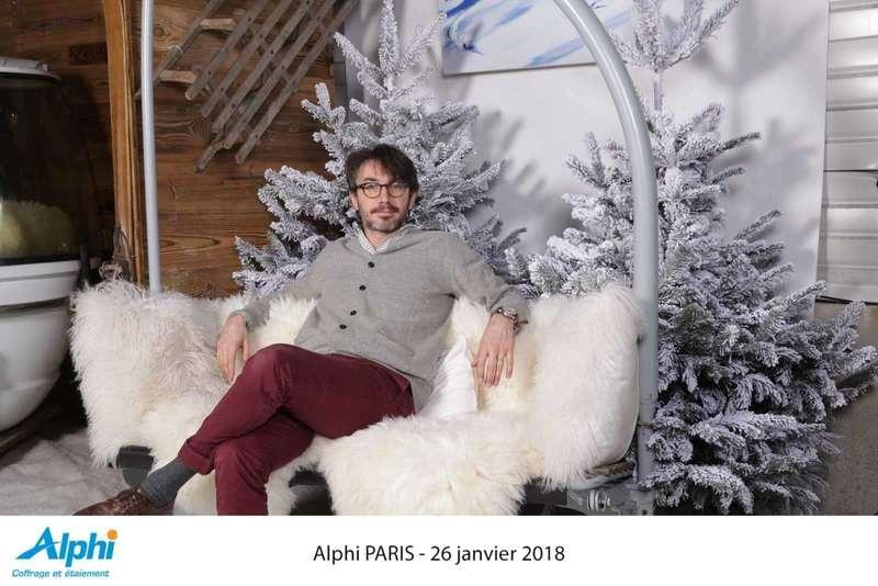 Photocall décors pour Alphi - 2018