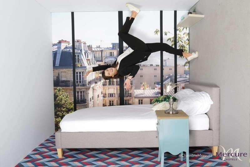 Gravity Box pour promouvoir les hôtels Mercure - 2018