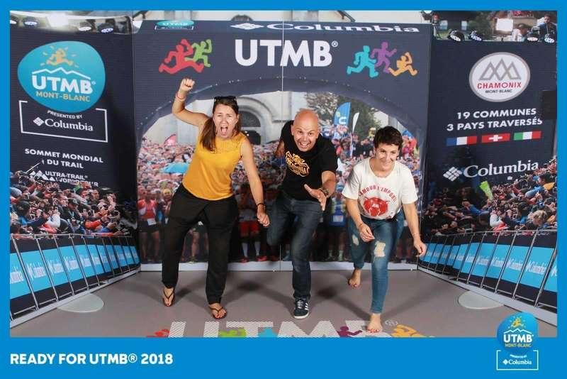 Photocall décors pour l'UTMB - 2018