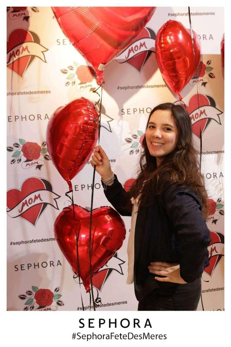 Photocall décors pour Sephora - 2019