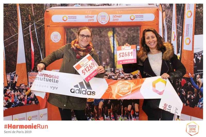 Photocall décors pour le Marathon de Paris  2019