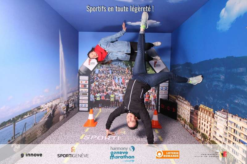 Marathon de Genève 2019 -Animation photo - Gravity Box