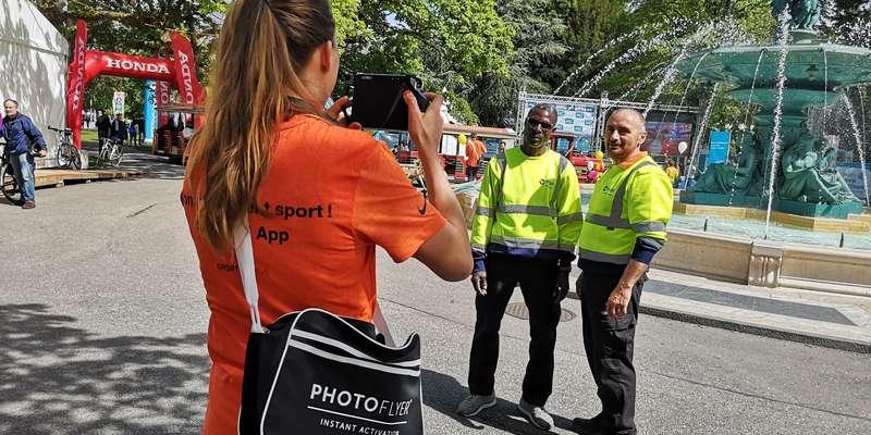 ANiamtion Photoflyers - Marathon de Genève 2019