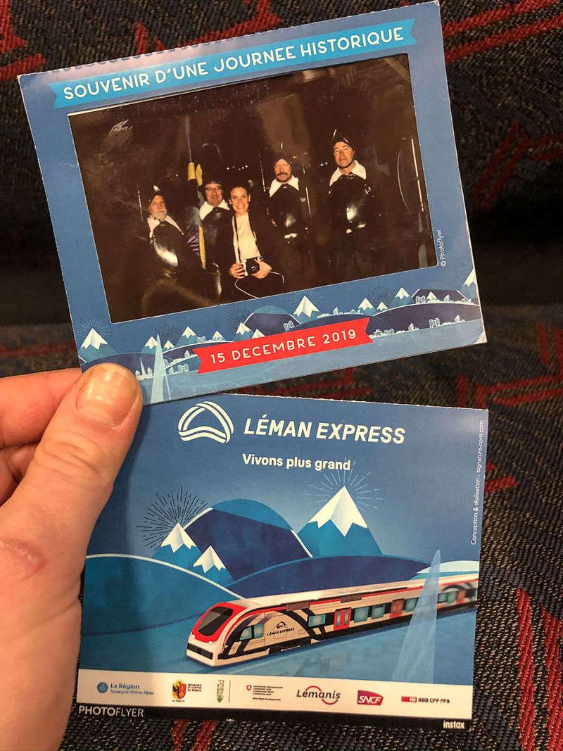 Photoflyers Léman Express