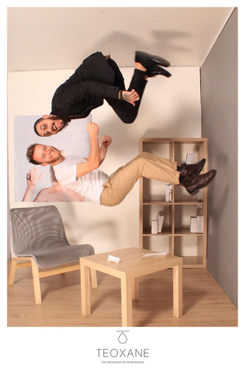 Animation photo soirée d'entreprise, Gravity Box