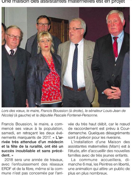 Le Ouest France (17 janvier 2018)