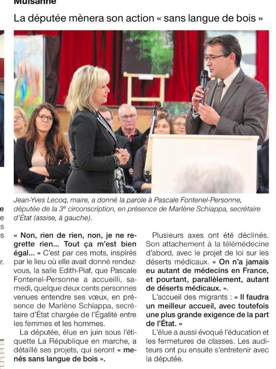 Le Ouest-France (31 janvier 2018)