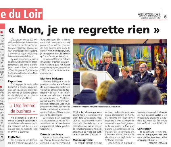 Le Petit Courrier - L'Écho (2 février 2018) n°2