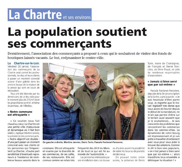Le Petit Courrier - L'Écho (2 février 2018)