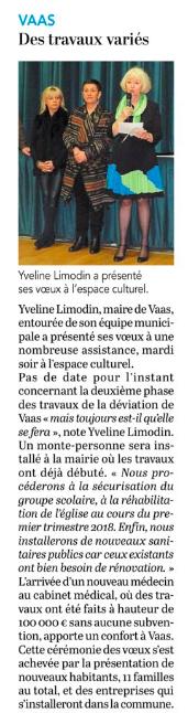 Le Petit Courrier - L'Écho (16 janvier 2018)