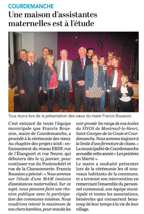 Le Petit Courrier - L'Écho (17 janvier 2018)
