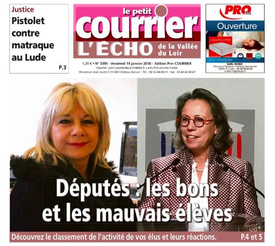 Le Petit Courrier - L'Écho (19 janvier 2018) n°3