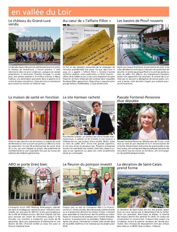 Le Petit Courrier - L'Écho (29 Décembre 2017)