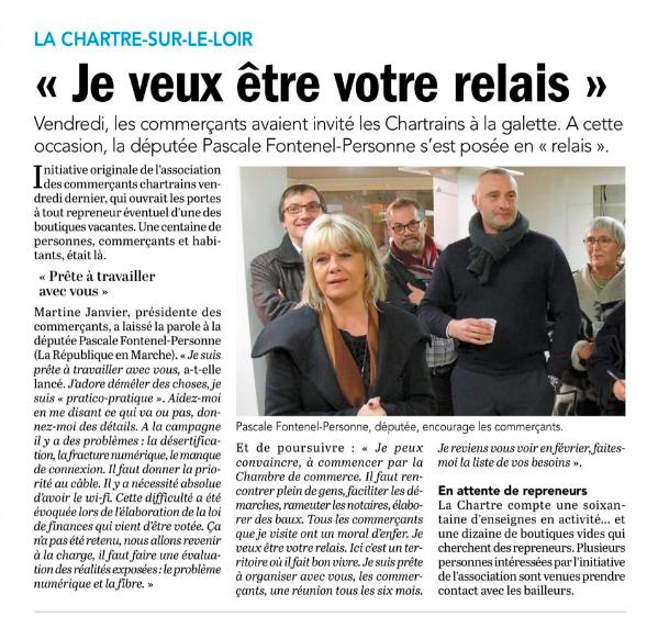 Le Petit Courrier - L'Écho (31 janvier 2018)