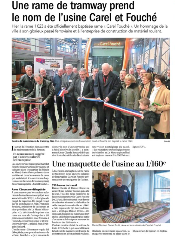 Ouest France - 4 mars 2018