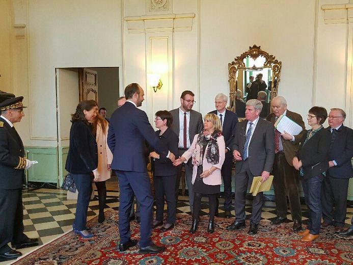Visite du Premier ministre Édouard Philippe