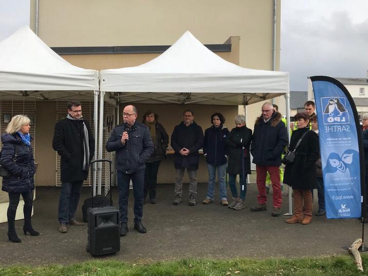 Inauguration du refuge LPO à Mulsanne