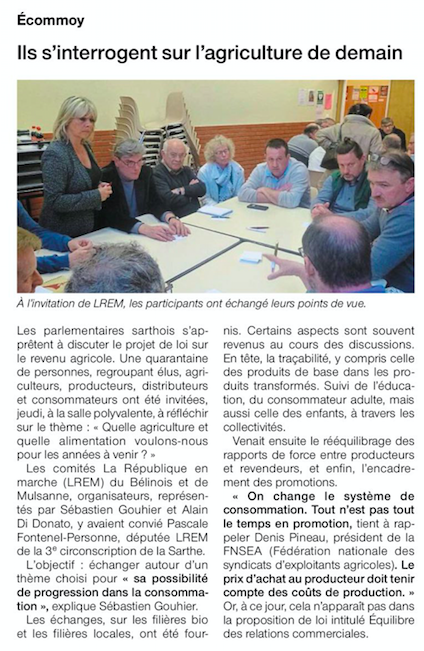 Ouest-France - 14 avril 2018