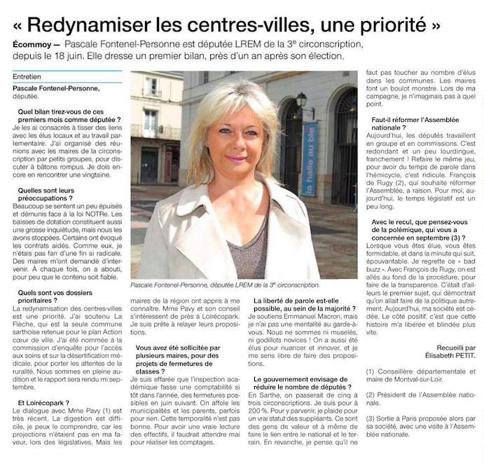 Ouest-France - 26 avril 2018