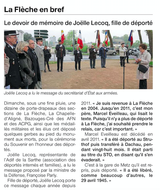Ouest-France - 30 avril 2018