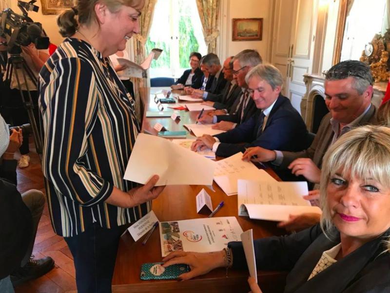 Signature du contrat mixte Action Cœur de Ville - 28 septembre
