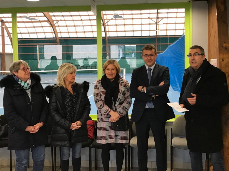 Inauguration des courts de tennis - 27 octobre 2018