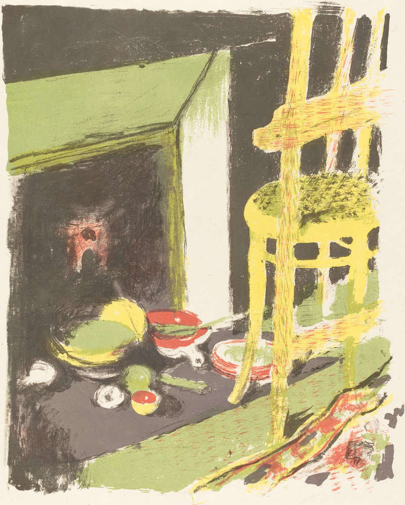 L'atre (The Hearth), Print (1899), Rosenwald Collection, National Gallery of Art.