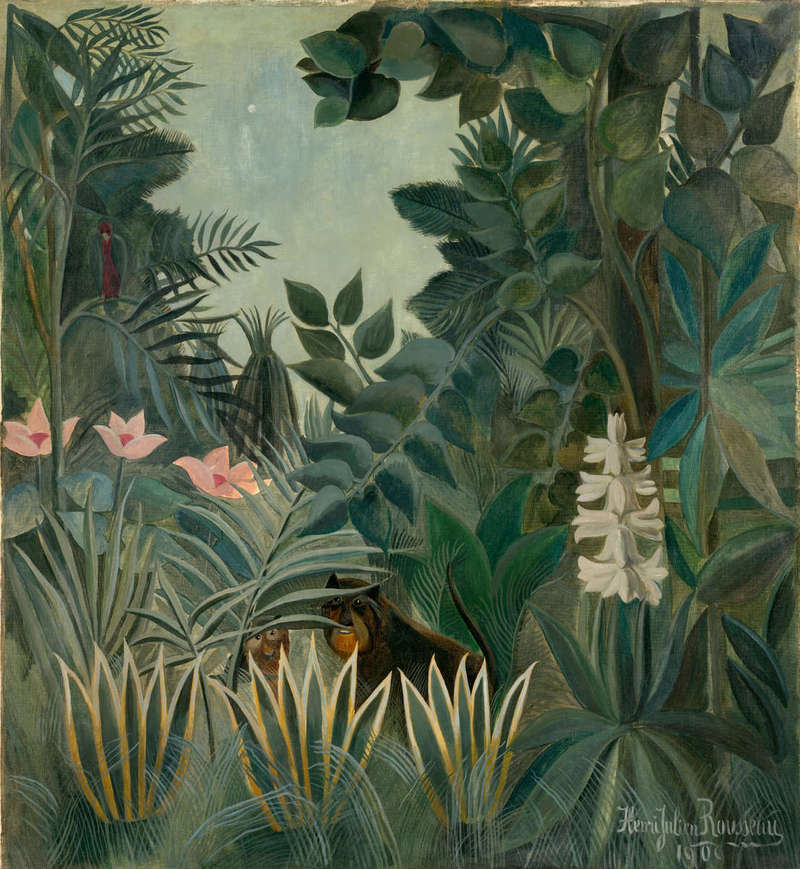 The Equatorial Jungle, Painting (1909), Chester Dale Collection, National Gallery of Art.