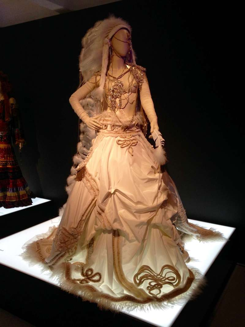 The Fashion World of Jean Paul Gaultier, From the Sidewalk to the Catwalk, 9 April 2014 – 25 August 2014, Barbican Museum, Art Gallery, London.