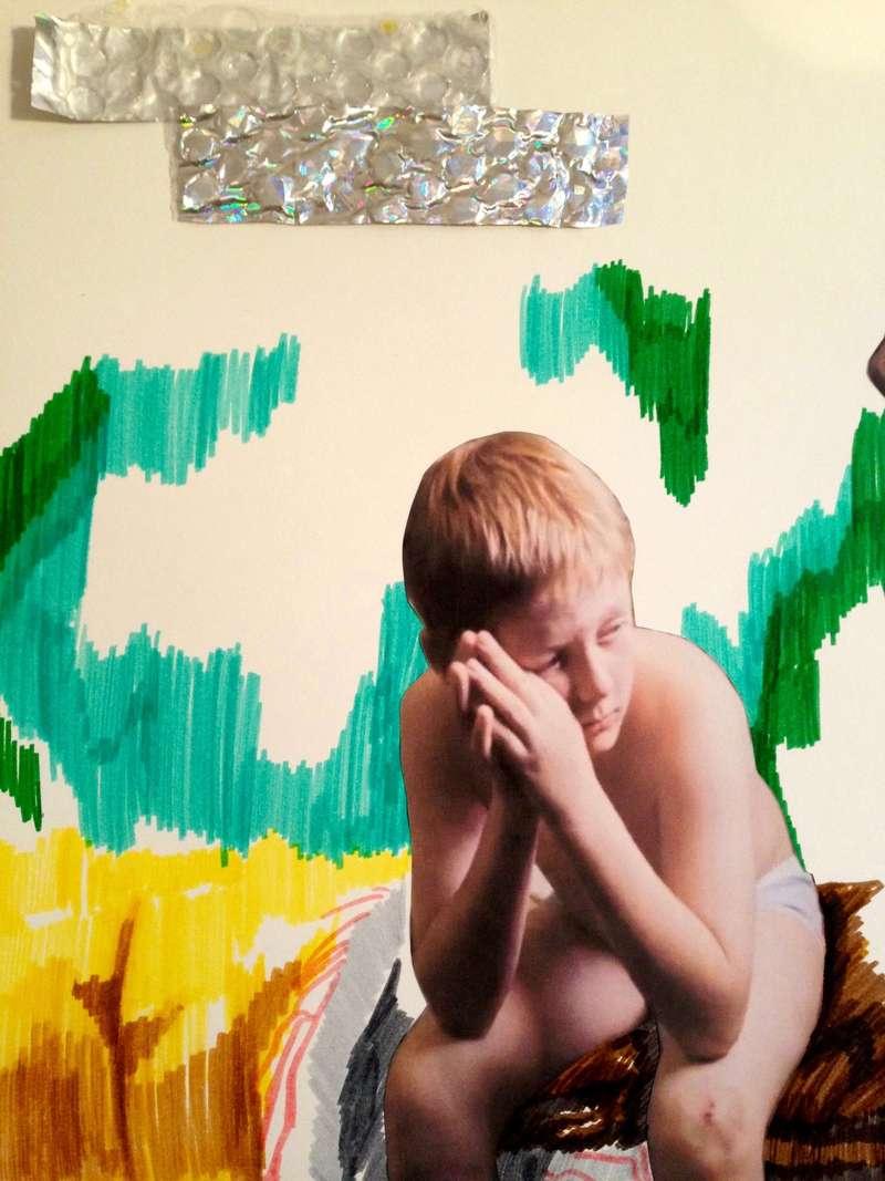 Shaun, Collage (2012), Manon Planche.