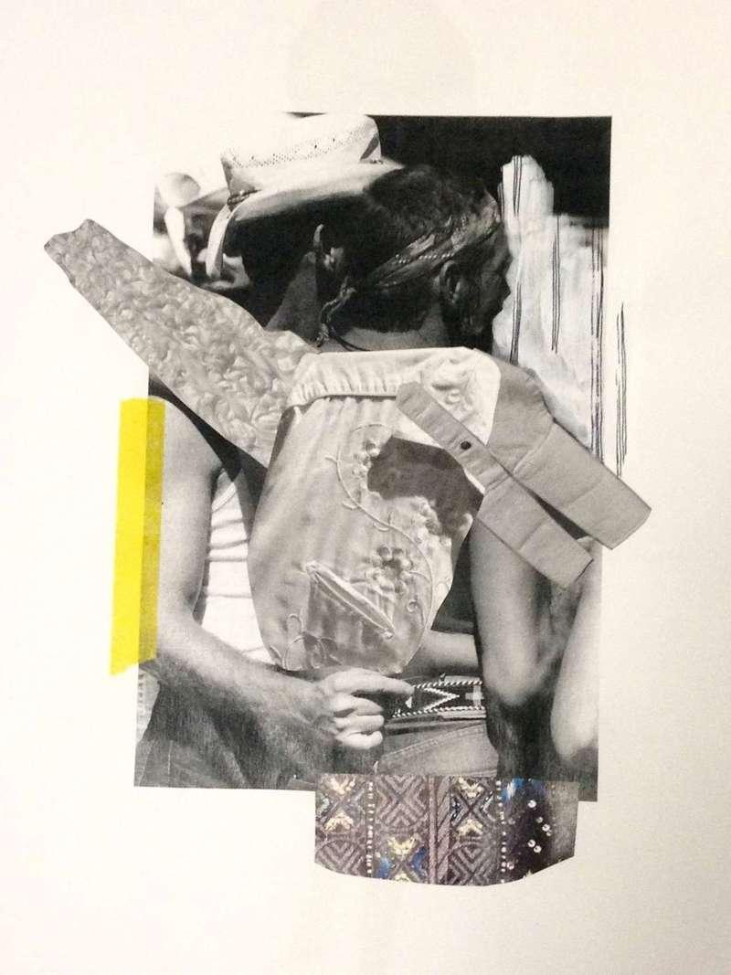 As Flexible as You Are III, Collage (2014), Manon Planche.