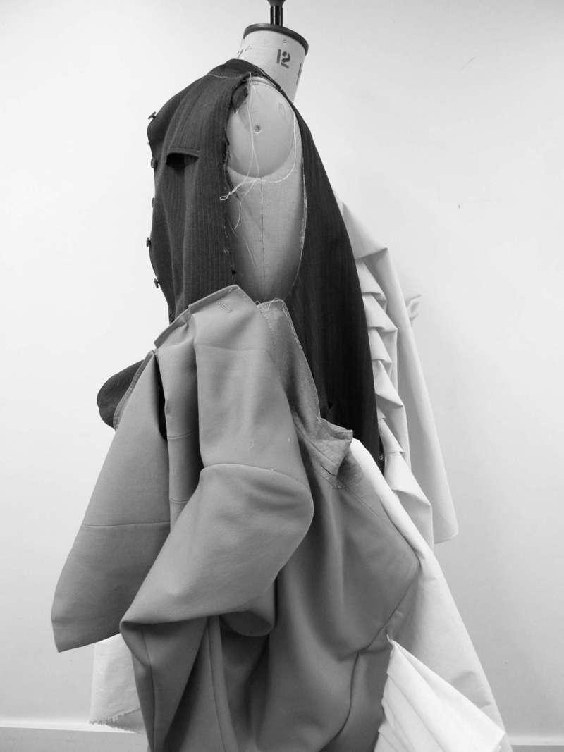 Merveilleuse I, Draping (2016), Manon Planche.