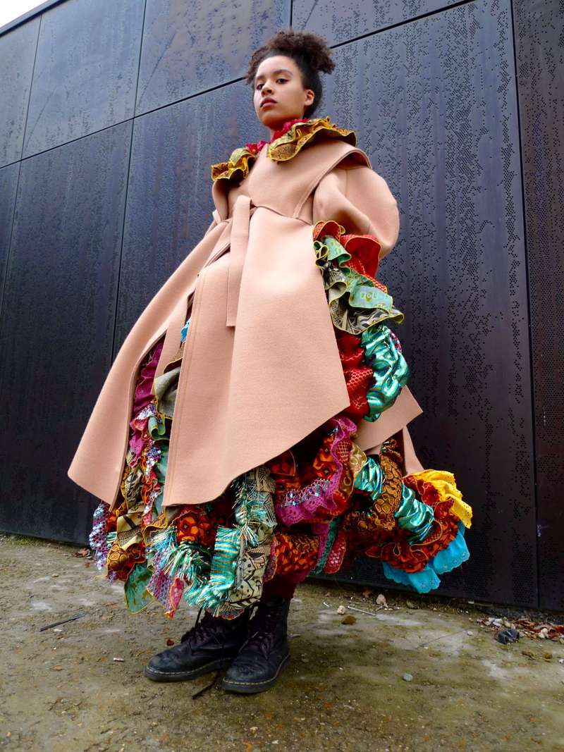 Tam Tam, Coat and Skirt (2016), Manon Planche.