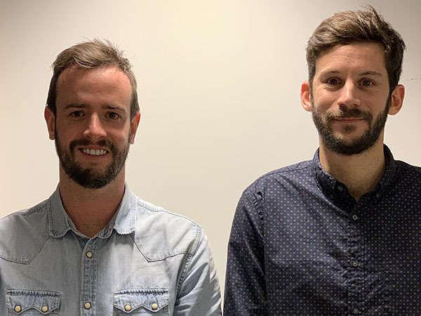 Morgan Lebaillif et François Roche Cofondateurs de Hello Garage