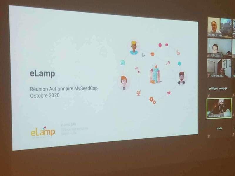 Présentation d'eLamp par Olivier Rohou (Zoom)