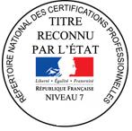Le plus haut niveau de Certification Européen de Coach Professionnel reconnu par l'État.