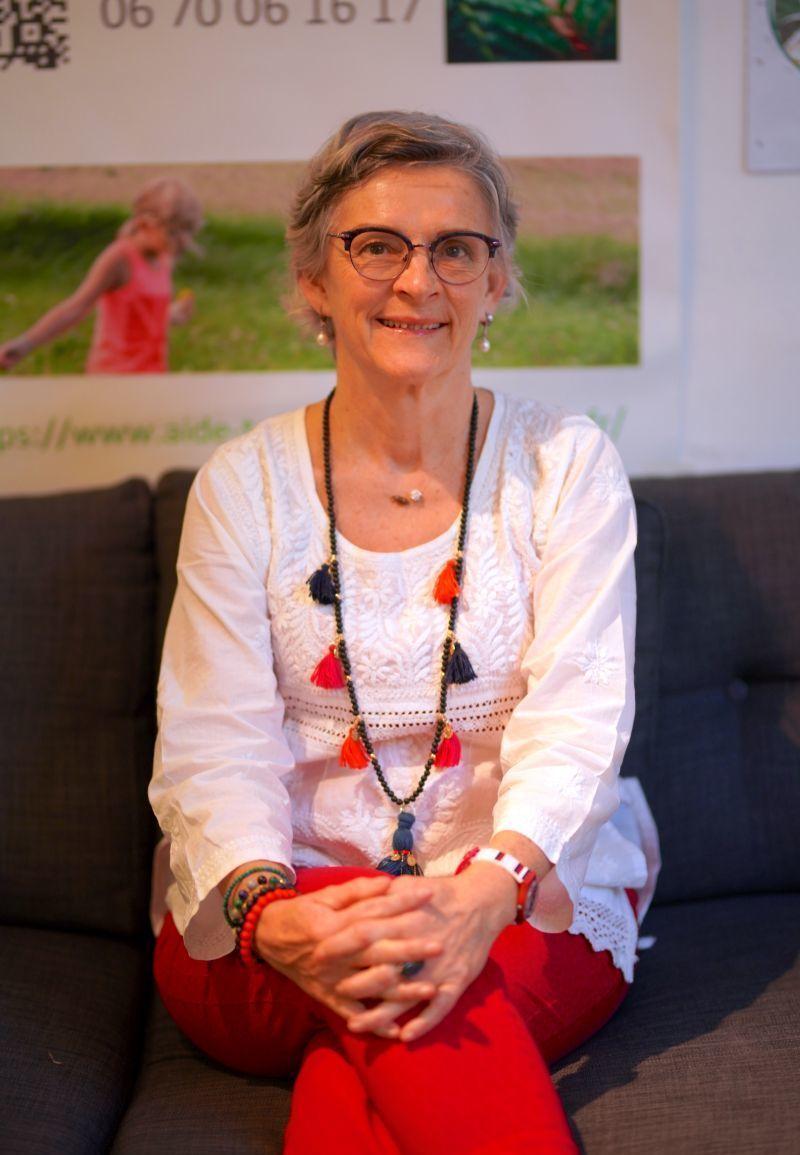 Christine LOUIS naturopathe en consultation