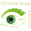 logo louis christine naturopathe iridologue marseille