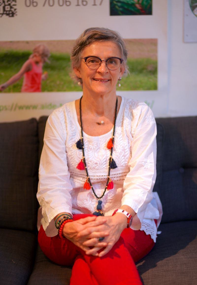 Christine LOUIS naturopathe en consultation