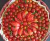 tarte aux couleurs de l'italie