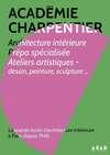 sommaire-plaquette Académie Charpentier Paris 6