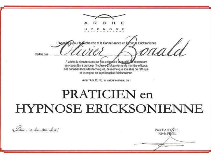 diplome-olivier-bonald-ecole-arche-hypnose-ericksonienne-768x543