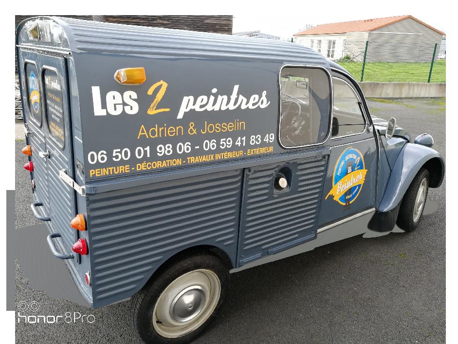Camion des 2 peintres à Cholet
