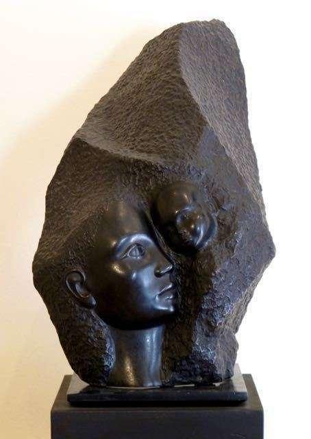 EN AMOUR - bronze
